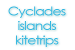 Cyclades islands kitetrip