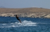 Learn kiteboarding in your holidays at Cyclades