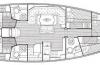 Bavaria 50 Cruiser  blueprint