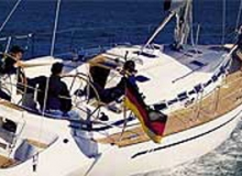 Bavaria 49 Monohull for kitesurfing trip