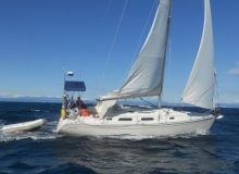 Hanse 341  is available for charter in Greece