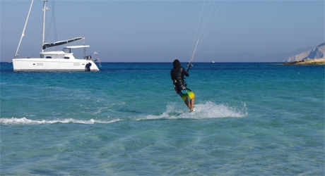 Greek Islands, wind & kitesurfing
